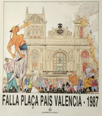 Cartel Fallas Sento