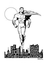 Original de Manel Gimeno Capitan Marvel