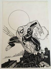 Portada Original de Spiderman de Manel Gimeno.