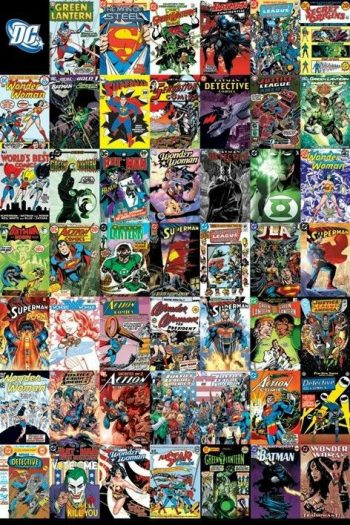 Poster DC Comics Covers